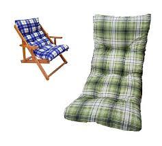 cuscini per sedia a dondolo ricambio cuscino poltrona relax sedia sdraio harmony in legno