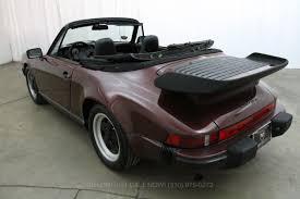 classic convertible porsche 1983 porsche 911sc cabriolet beverly hills car club