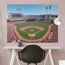 cincinnati reds fathead wall decals u0026 more shop mlb fathead