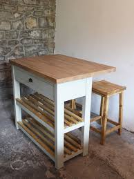 kitchen island oak monmouth butchers block kitchen island breakfast bar oak top