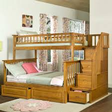 bedroom bunk beds for kids with desks underneath craft room