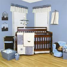 Baby Boy Curtains Nursery Curtains by Fascinating Decorating Ideas Using Rectangular Brown Wooden Cribs