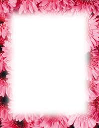 magnolia border free powerpoint backgrounds template books worth