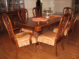 Dining Room Chair Seat Covers by Dining Room Circular Dining Table Dining Table With 6 Chairs