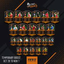 black friday fifa 16 fifa 17 halloween cards guide fut 17 scream players cards