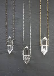 sterling silver quartz necklace images Best 25 quartz necklace ideas crystal jewelry jpg