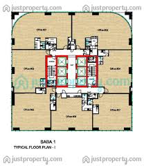 saba 1 floor plans justproperty com