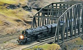 ho scale crossing howe truss brigdge picture of baltimore