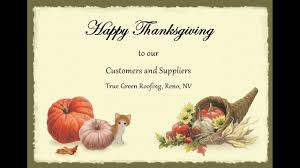 happy thanksgiving to all our customers and suppliers 2016