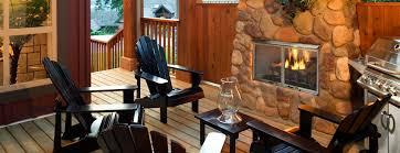 villa gas stainless steel outdoor fireplace heatilator