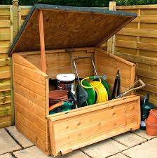 Outside Storage Bench Garden Storage Outdoor Storage Ideas Garden Storage Bench Wooden