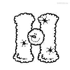 h bubble letter free download clip art free clip art on