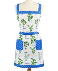 martha stewart kitchen collection martha stewart collection picked herbs embroidered apron