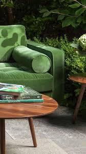 Emerald Green Velvet Sofa by 54 Best Sofa Images On Pinterest Green Velvet Sofa Living