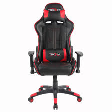 pc gaming desk chair techni sport rta red gaming chair champs chairs