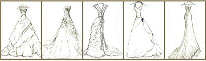 black and white dress sketches whnv dresses trend