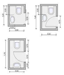 small toilet dimensions of a ii tiny bathrooms pinterest 5