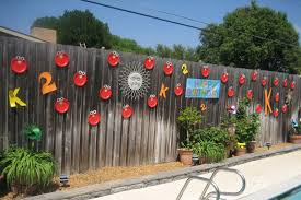 Backyard Fence Decorating Ideas Backyard Fence Decorations Dma Homes 1557