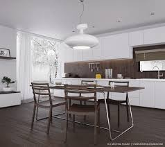 the nice looks of modern kitchen tables inspiring home ideas