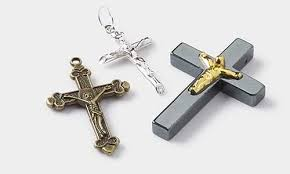 rosary crucifix rosary and rosary parts mountain gems and