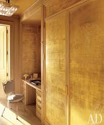 gold leaf metallic finish design trends