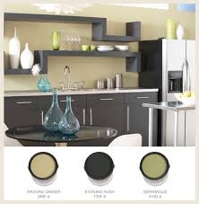 behr paint colors for kitchen with cabinets painted cabinets kitchen cans border colorfully behr