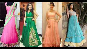 party wear long gown dress designs youtube