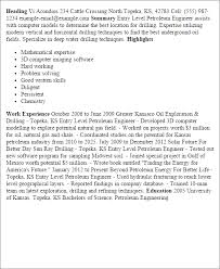 petroleum engineer cover letter 28 images resume exle free
