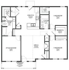 l shaped floor plans small 3 bedroom house modern small house plan design and simple 3