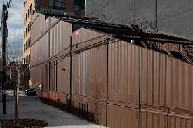 brooklyn house lot ek s carroll house in brooklyn is made from 21 shipping containers