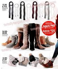 target s boots in store sneak peek target ad scan for 12 4 12 10 totallytarget com