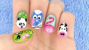 animals nail art 5 nail art designs youtube