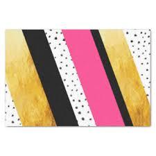 black and white striped tissue paper color blocks craft tissue paper zazzle