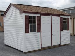 red barn storage handy home products installed majestic 8 ft x 12