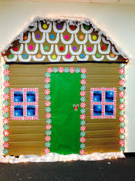 gingerbread house has taken over the office art teacher