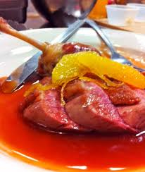 gastrique cuisine duck a l orange and gastrique demi glace glamorized cuisine