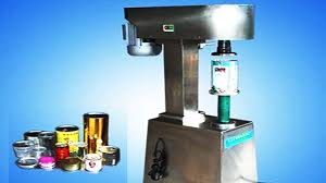 metal cans seamer equipment semi automatic manual tin cans sealing