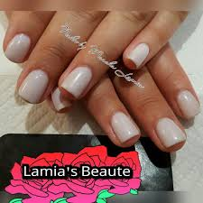 no chip gel manicure in opi funny bunny yelp