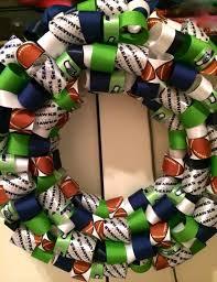 seahawk ribbon 24 best seahawks wreaths images on seattle seahawks