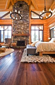 log cabin floors 35 gorgeous log cabin style bedrooms to make you drool