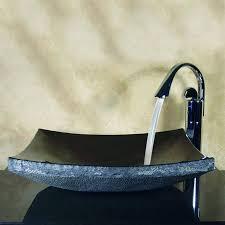 shop yosemite home decor stone products natural black stone vessel