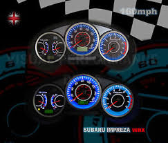 subaru wrx custom interior subaru impreza wrx uk spec interior speedo dash custom lighting