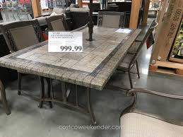 costco kitchen furniture decor great agio patio costco dining room sets parsons dining chairs