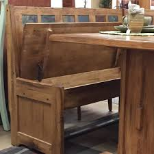 Small Breakfast Nook Table by Diy Rustic Breakfast Nook With Storage Bench And Fold Up Door Ideas