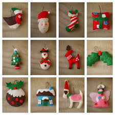 feltmas ornaments diy tree ornament template with