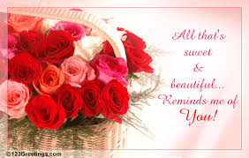 all that s sweet and beautiful free thinking of you ecards