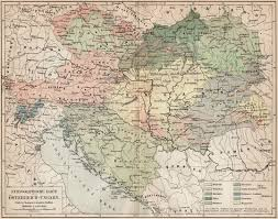 World Map Austria by Ethnographic Map Of Austria Hungary 1906