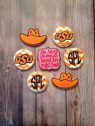spirit halloween stillwater ok oklahoma state university osu themed cookie set sugarcookie