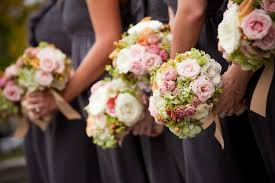 Shabby Chic Wedding Bouquets by Shabby Chic Green Pink Bouquet Garden Spring Summer Vineyard