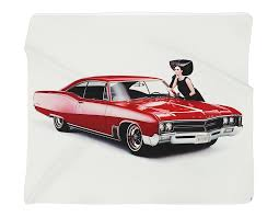 1967 buick wildcat full color photo blanket wall banner 50 x 60